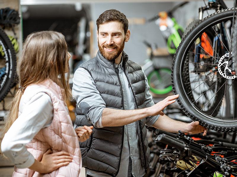 como comprar uma bicicleta, saiba escolher