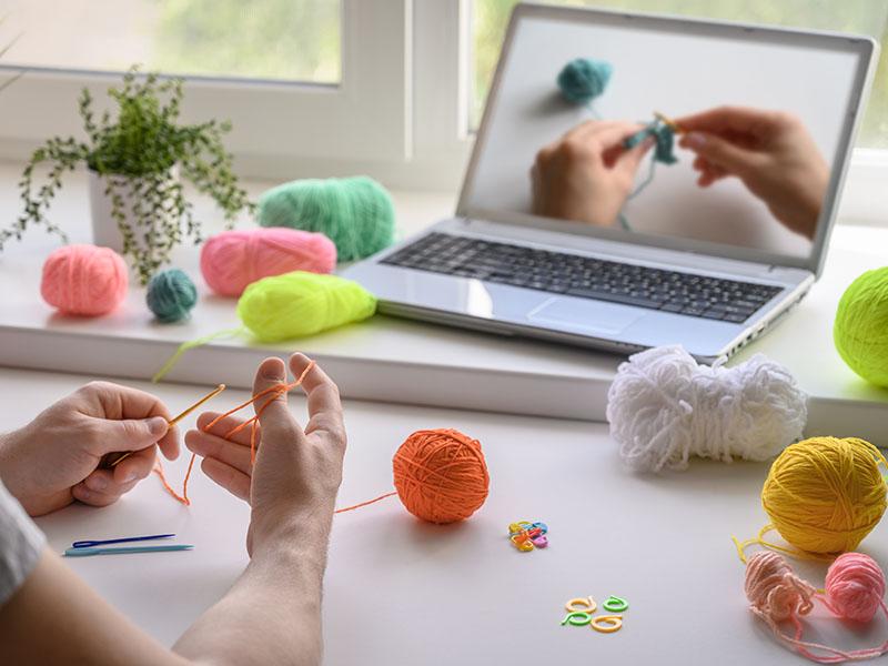 Aprenda a ganhar dinheiro com crochê