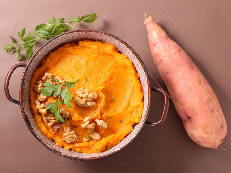 A batata doce é uma alimento saudável e ideal para uma dieta balanceada e barata